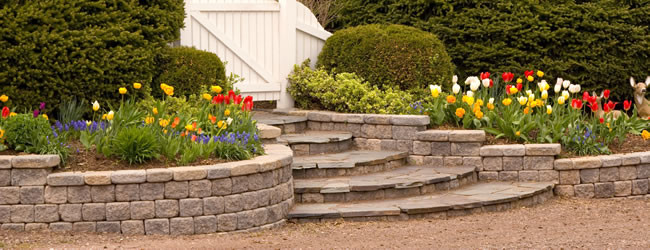 The Blog - Retaining Walls Add Value And Beauty - St Louis Lawn Care Company